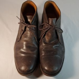 Bed Stu Cobbler Series Brown Leather Shoes